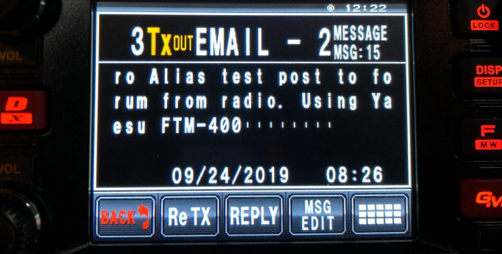Alias post to forum from APRS