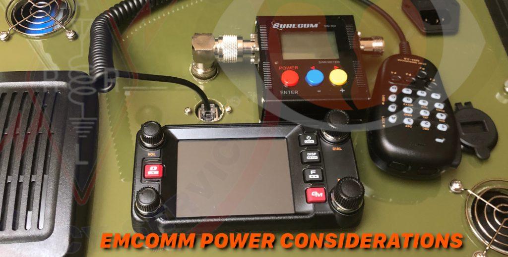 EMCOMM Power Considerations