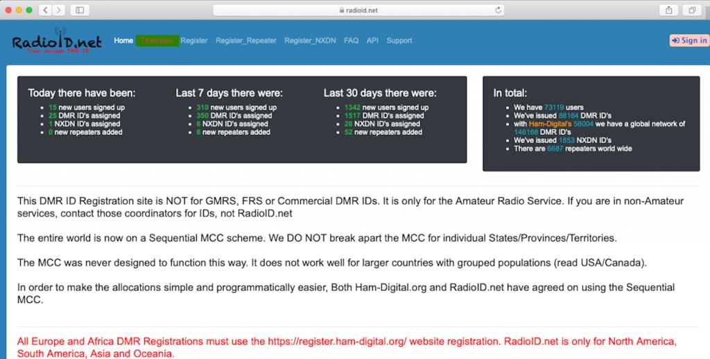 Radioid.net